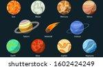 planet of the solar system. sun ...   Shutterstock .eps vector #1602424249