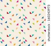 seamless geometric pattern | Shutterstock .eps vector #160243973