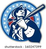 illustration of a american... | Shutterstock . vector #160247399