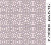 seamless geometric ornamental... | Shutterstock .eps vector #1602507550