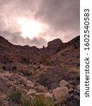 Franklin Mountains At El Paso...