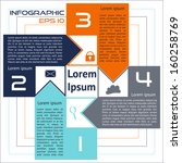 infographics square abstract...