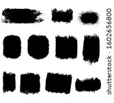collection of vector brush hand ... | Shutterstock .eps vector #1602656800