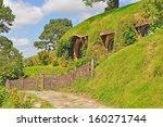 walkway at hobbiton vilage ... | Shutterstock . vector #160271744