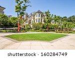 villa residence | Shutterstock . vector #160284749