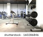 health and recreation room | Shutterstock . vector #160286846