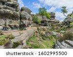 Brimham Rocks In North Yorkshire