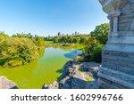 Turtle Pond Seen From Belveder...