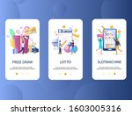 prize draw  lotto  slot machine ...