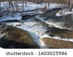 Chittenango Falls River In...