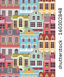 seamless pattern with colorful... | Shutterstock .eps vector #160302848