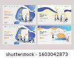 collection of business people... | Shutterstock .eps vector #1603042873