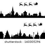 Vector Illustration Of Santa's...