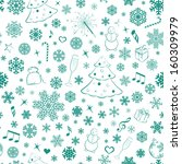 seamless pattern with...   Shutterstock . vector #160309979