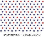 4th of july stars and stripes... | Shutterstock .eps vector #1603103140
