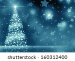 christmas tree | Shutterstock . vector #160312400