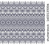 seamless pattern. hand drawn... | Shutterstock .eps vector #1603135006
