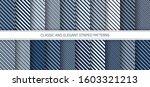 elegant patterns. set of... | Shutterstock .eps vector #1603321213