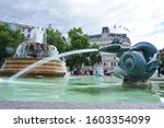 Fountain At The Trafalgar...
