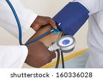 medical check up   focus on... | Shutterstock . vector #160336028