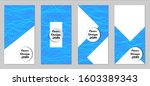 modern flyers with small... | Shutterstock .eps vector #1603389343