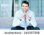 successful business man  | Shutterstock . vector #160357508