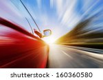 abstract acceleration motion | Shutterstock . vector #160360580