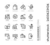 simple set of e commerce...