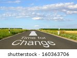 time for change | Shutterstock . vector #160363706