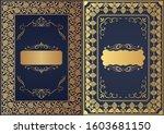 set of decorative design...   Shutterstock .eps vector #1603681150