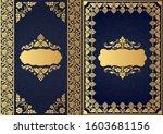 set of decorative design...   Shutterstock .eps vector #1603681156