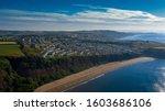 Devon Coastline Situated With...