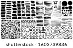 dividers  ornaments and brush... | Shutterstock .eps vector #1603739836