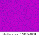 retro seamless wave lines... | Shutterstock .eps vector #1603764880