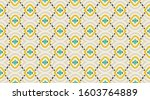 arabic pattern background. ... | Shutterstock .eps vector #1603764889