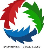 recycle pines colors suitable... | Shutterstock .eps vector #1603766659