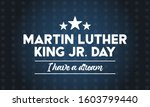 Martin Luther King Jr Day. I...