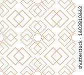 white geometric seamless design ... | Shutterstock .eps vector #1603810663