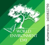 world environment day poster... | Shutterstock . vector #1603822750