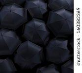 umbrellas  beautiful 3d... | Shutterstock . vector #160382369