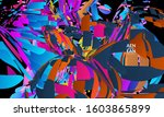 abstract landing page template...   Shutterstock .eps vector #1603865899
