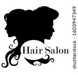 Hair Salon Logo. Beautiful...
