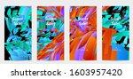 abstract social media template...   Shutterstock .eps vector #1603957420