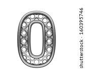 isolated metal figure   Shutterstock . vector #160395746