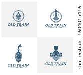 Set Of Classic Train Logo...