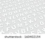 letters of the english alphabet.... | Shutterstock . vector #160402154