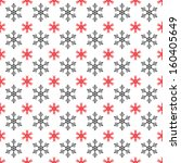 pattern of snowflakes white... | Shutterstock .eps vector #160405649