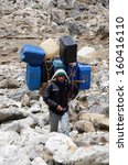 everest region nepal  april 23... | Shutterstock . vector #160416110