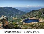 Dam Covao In Serra Da Estrela ...
