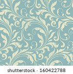 vector textile   wallpaper... | Shutterstock .eps vector #160422788